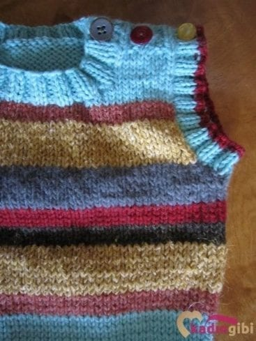 Knitting Patterns For Wool Scraps : orgu Erkek Bebek Yelekleri Kadingibi